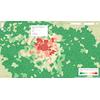 Accidents en Île-de-France : nombre et gravité moyenne par commune