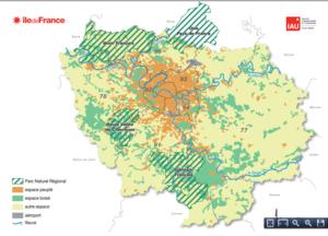 Le développement naturel des parcs franciliens