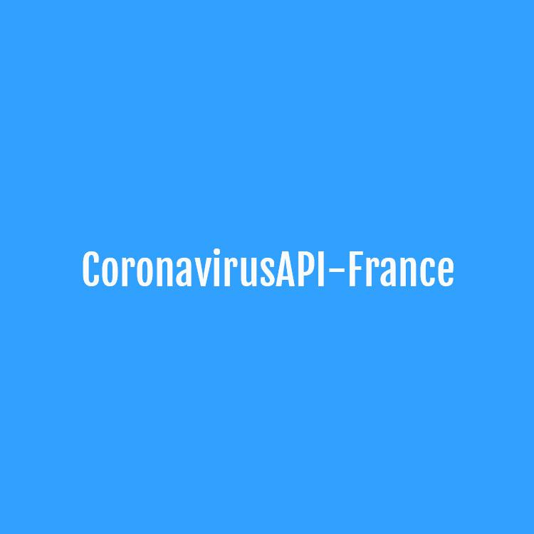 CoronavirusAPI-France