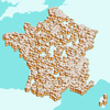 Carte des brasseries