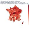 Analyse au 17 juin  de la mortalité des patients COVID19 hospitalisés