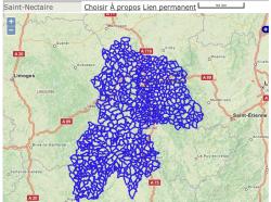 Carte des AOC/AOP
