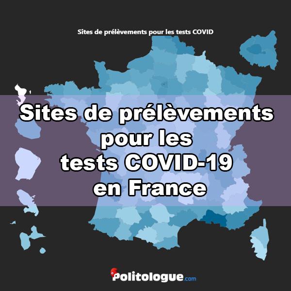 Tests Covid19, liste des laboratoires en France (métropole et outre-mer)