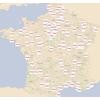visualisation sur le Géoportail des sites de fouille