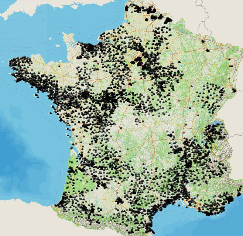 Les bornes de recharges pour véhicules éléctriques en France