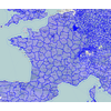 Visualisation des départements dans OpenStreetMap