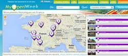 MyOpenWeek : monuments historiques français géolocalisés avec photos