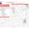 Visualisation sur fond Géoportail de l'Atlas des Patrimoines