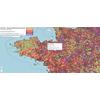 Taux d'incidence COVID19 par commune de France métropolitaine