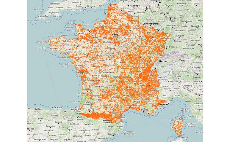 ZONES NATURELLES D'INTÉRÊT ÉCOLOGIQUE, FAUNISTIQUE ET FLORISTIQUE EN FRANCE MÉTROPOLITAINE