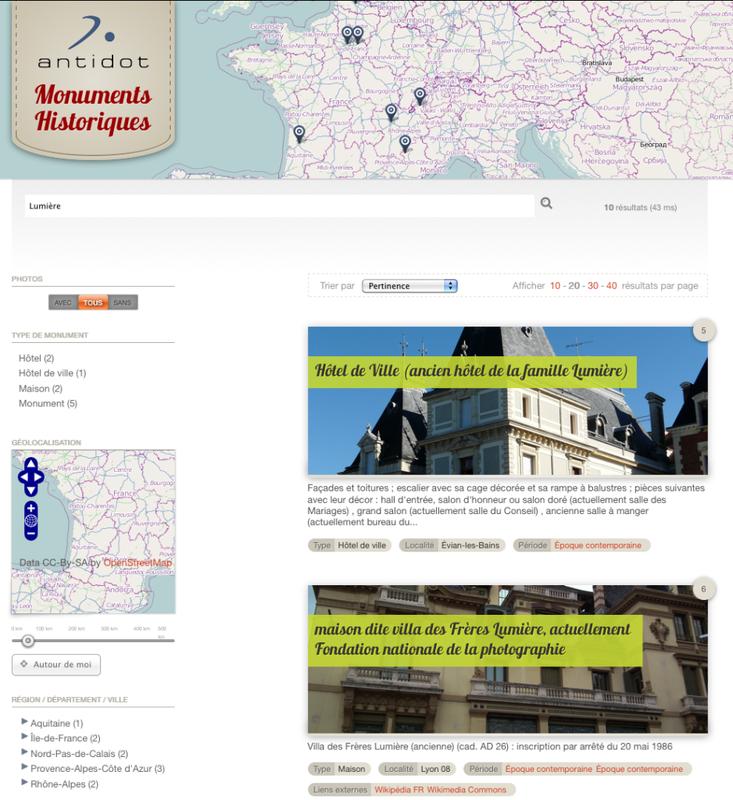 À la découverte des Monuments Historiques