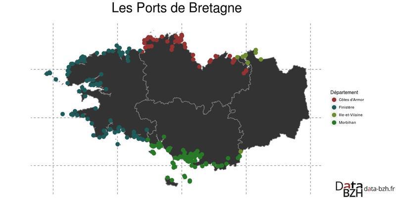 Datasnack #38 — Les ports de Bretagne