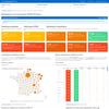 Statistiques et évolution du Coronavirus COVID-19 en France (pays, département, région) et dans le monde : cartographie, graphiques et courbes d'évolution