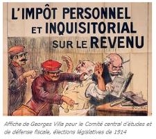 1914 - 2014 : 100 ans d'impôt sur le revenu