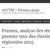 Fresnes, analyse des résultats du premier tour des élections régionales 2015