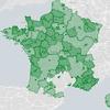 Carte des collectivités locales ouvertes