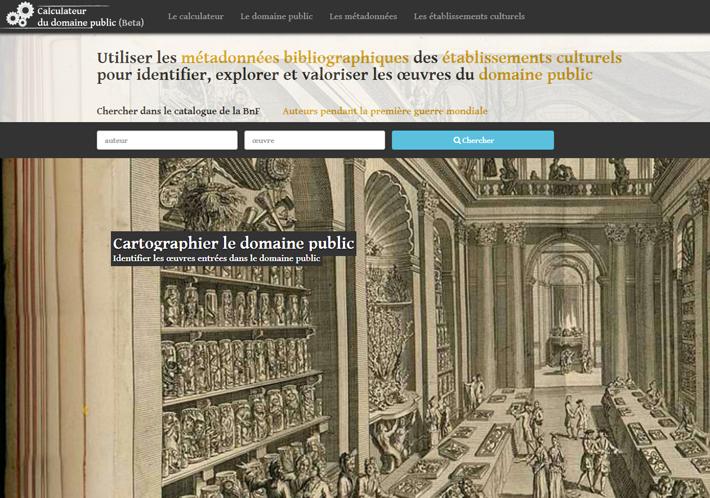 Calculateur du Domaine Public