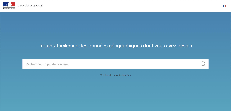 Extinction de geo.data.gouv.fr
