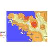 Dysfonction érectile : cartogramme des indices de consommation région Bretagne