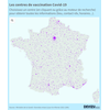 Carte interactive des centres de vaccination en France