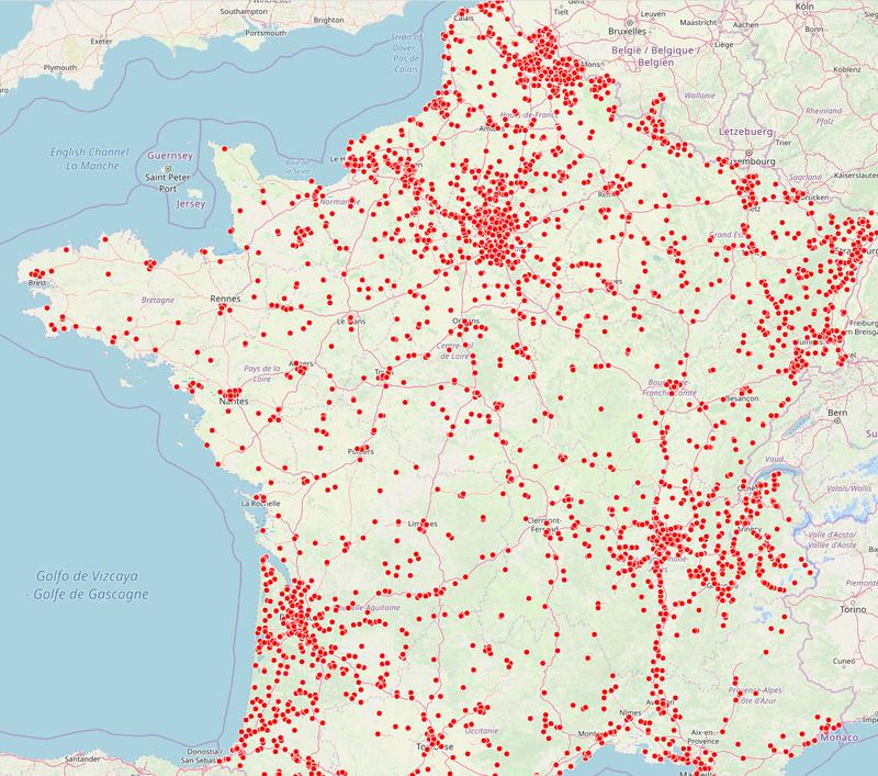 Pollution des sols : la carte de France interactive
