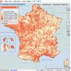 Cartographie des taux d'imposition de la taxe foncière