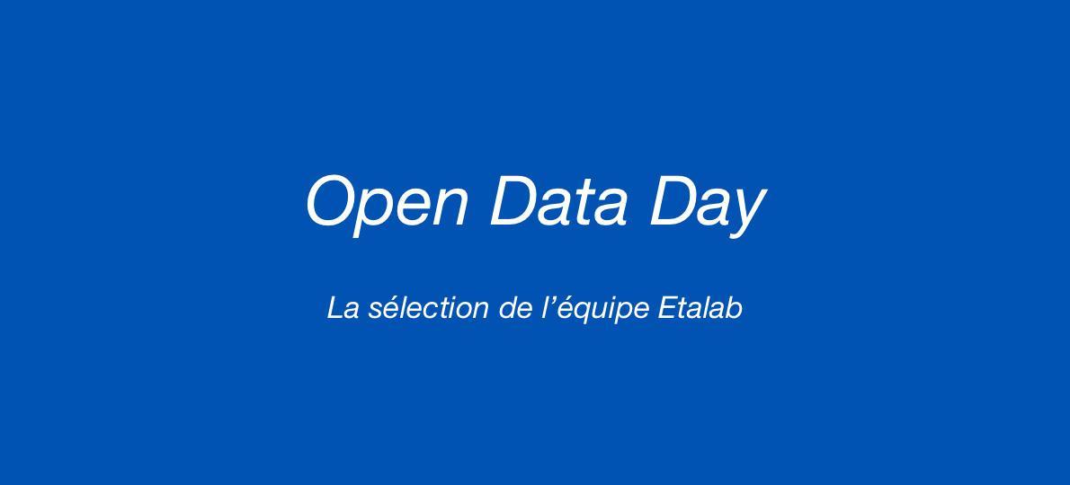 Open Data Day 2020 : ce que les membres d'Etalab ont retenu l'année passée