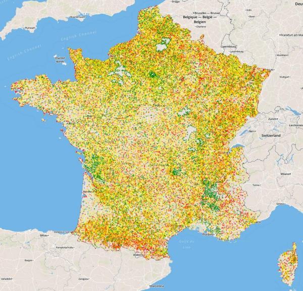 Contrôle qualité des limites administratives françaises dans OSM