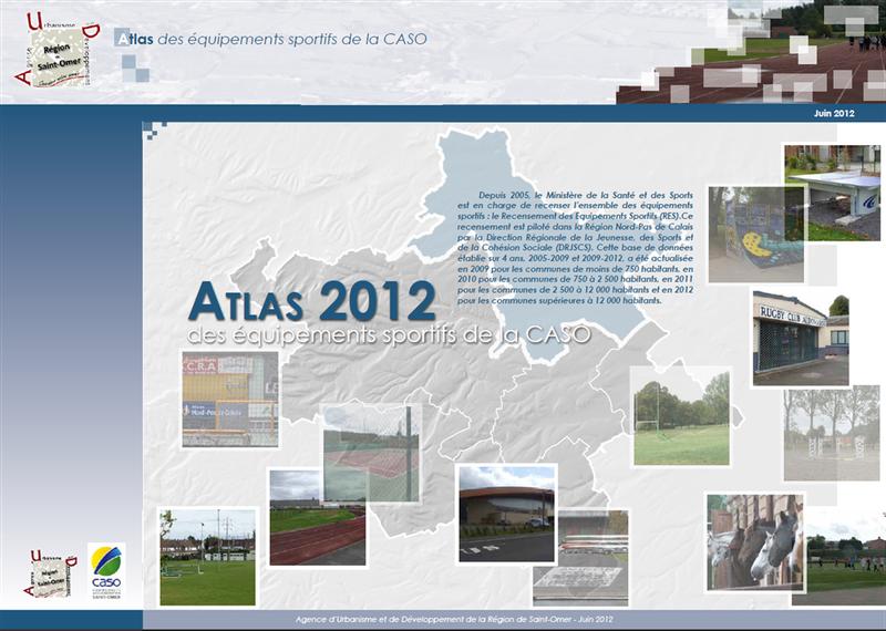 Atlas des équipements sportifs de la communauté d'agglomération de Saint-Omer