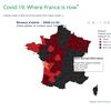 Carte interactive des niveaux d'alertes