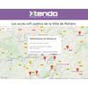 Les accès wifi publics de la Ville de Poitiers