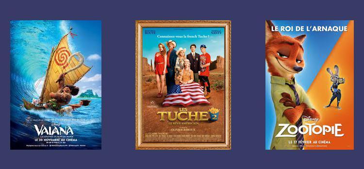 Top 10 films de 2016 en France