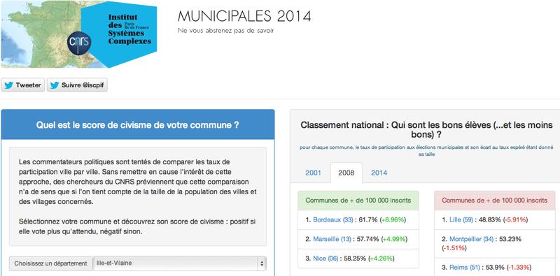 Municipales 2014 - Ne vous abstenez pas de savoir