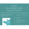 Laval, les soldats morts   pour la France