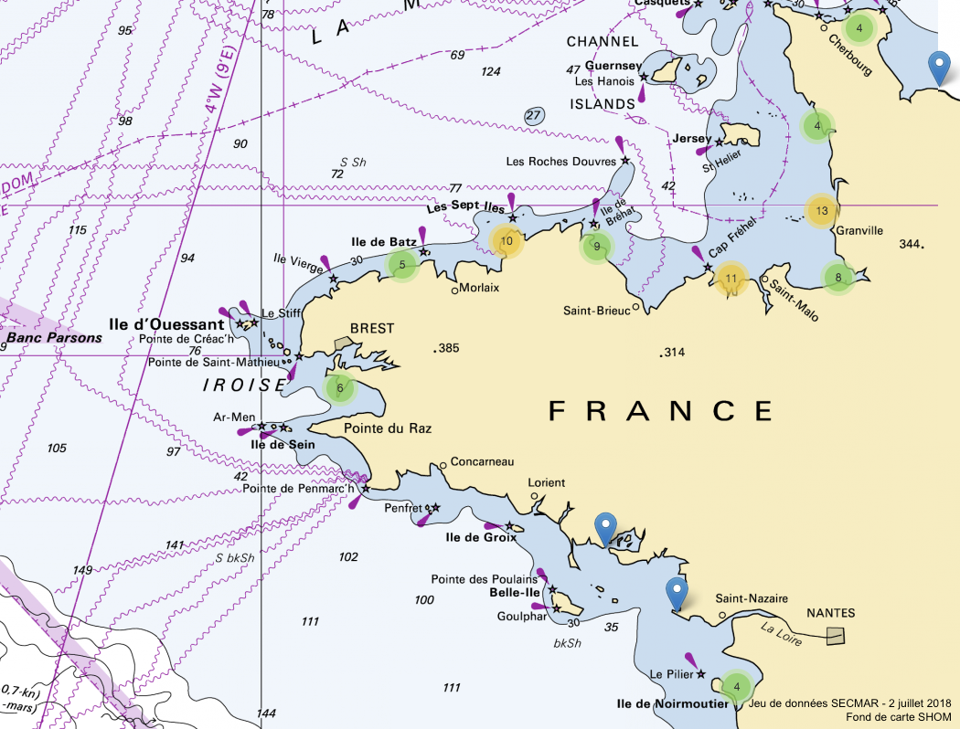 Les Centres régionaux opérationnels de surveillance et de sauvetage (CROSS) ouvrent leur données sur la sécurité maritime