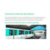 Couverture internet des métros