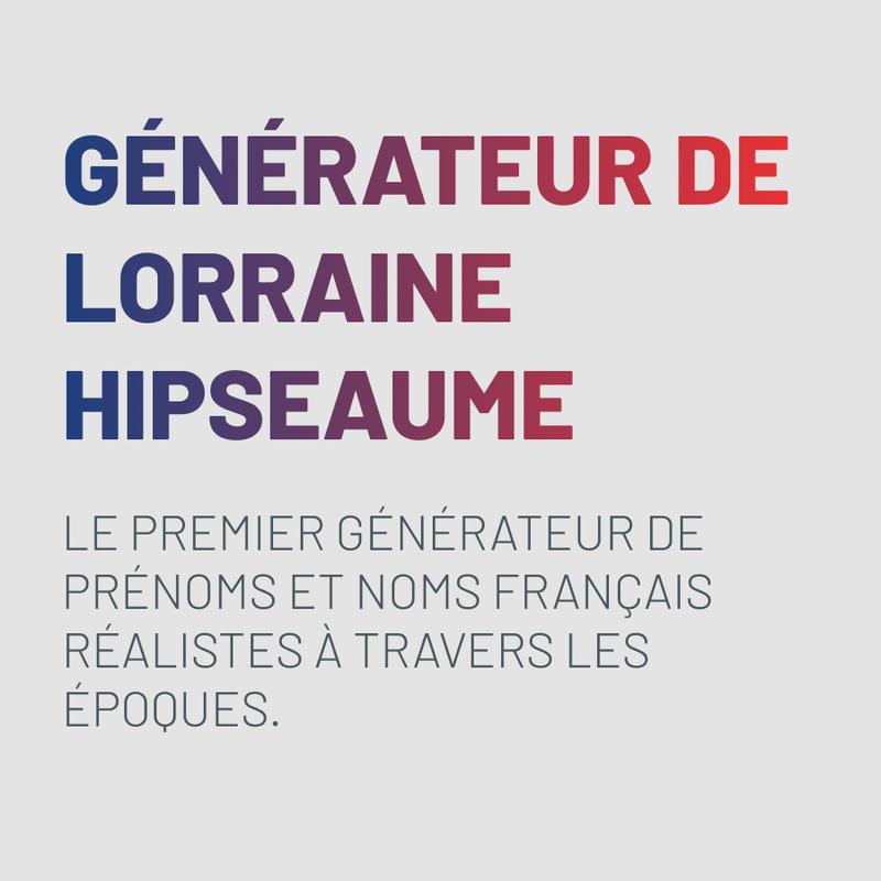 Lorraine Hipseaume