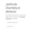 Site web des jardins collectifs de l'agglomération de Grand Chambéry
