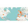 Les expatriés français s'installent surtout en occident : la carte de leur répartition