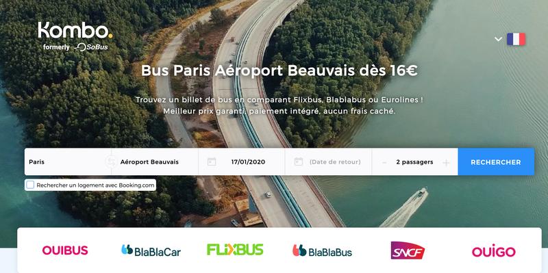 Horaires de la navette Paris Aéroport de Beauvais