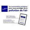 Recosanté : un service public numérique sur la qualité de l'air