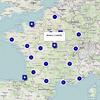 Carte des contributeurs ayant répondu à l'enquête ECCE Carto