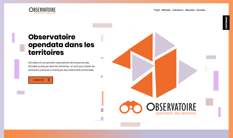 Observatoire open data des territoires