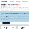Test de réseau mobile 5G