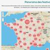 Informations clés sur les festivals  dans tous les domaines culturels et sur tout le territoire