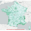 carte nationale de l'attractivité au niveau infra-communal (IRIS)