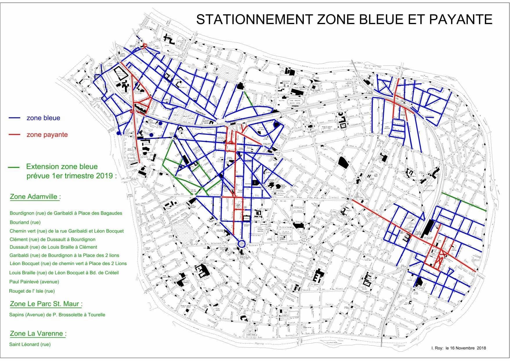 zones bleues saint maur des foss s. Black Bedroom Furniture Sets. Home Design Ideas